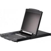 LCD KVM Switch ATEN 8 porturi 19 inch