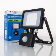Projetor LED 10w»50W Luz Quente 800Lm SENSOR SLIM b