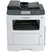 Multifunctional Lexmark MX410de, A4, 38 ppm, Duplex, ADF, Retea
