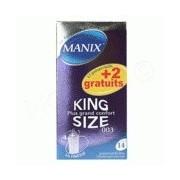 Manix - Préservatifs King Size - Boite de 12
