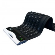 Urban Factory - Clavier Flexible Antibacterial Silicone - USB 2.0