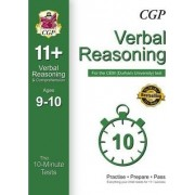 10-Minute Tests for 11+ Verbal Reasoning (Ages 9-10) - CEM Test by CGP Books
