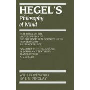 Hegel's Philosophy of Mind by G. W. F. Hegel