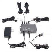 AGPtek IR Infrared Remote Control Extender Emitter Kit - Hiddern IR control system for home theater