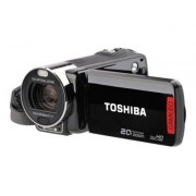 Toshiba CAMILEO X200 - Caméscope - Haute définition - 8.0 MP - 12 x zoom optique - flash 128 Mo - carte Flash - noir