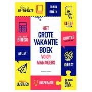 Boek Het grote vakantieboek voor managers   Business contact