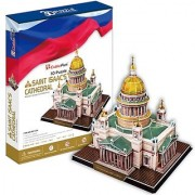 Cubic Fun MC122h St. Issacs Cathedral 3D Puzzle