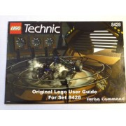 "Lego Technic User Guide For ""8428 Technic Turbo Command """