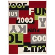 Tapis design 'MOSAIK' 160/230 cm à poils courts