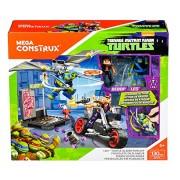 MATTEL Mega Construx Teenage Mutant Ninja Turtles Leo Turtle Glider Pursuit Building Set