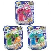 Bubble Blitz Bubble Flash Blaster See Thru Light Up Bubble Gun - Assorted Colors