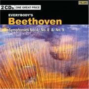 L Van Beethoven - Symphonies No.4,8&9 (0089408073120) (2 CD)