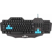 Tastatura Gaming TnB Blackbird USB Neagra
