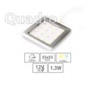 LED bodové svietidlo Quadro