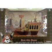 Disneys Deluxe Mickey Mouse Pirates of the Caribbean Pirate Ship Play Set - Theme Park Edition
