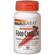 Food Carotene 50 perlas de Solaray