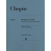 Nocturne cis-moll op. post. by Frederic Chopin