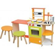 Kinderkeuken met Zitgedeelte