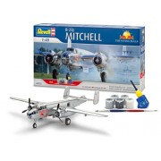 Revell - 05725 - Maquette - Aviation - Coffret Cadeau B-25J Mitchell - Flying Bulls