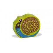 Facile sonaglio giocattolo suono in legno colorato, disegno animale sveglio - - Oops LHB 13.008,13 vite