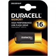 Duracell 16GB USB 3.0 Flash Memory Drive (DRUSB16HP)