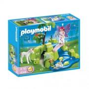 Playmobil 4148 Fairy Garden with Unicorn Compact Set