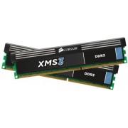 Corsair XMS3 Memoria RAM da 8 GB, 2 x 4 GB, DDR3, DIMM 240, 9-9-9-24, 1.65V, 1600 MHz