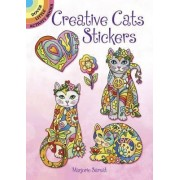 Creative Cats Stickers by Marjorie Sarnat