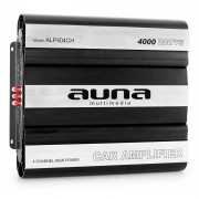Amplificator de mașină AUNA MOSFET, 4 Canale,putere de 4000W