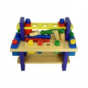 Banc de unelte din lemn