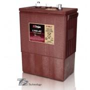 Batería de plomo ácido abierto Trojan L16G-AC 6V 390Ah Ciclo profundo