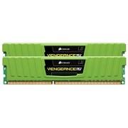 Corsair CML8GX3M2A2133C11G Vengeance LP 8GB (2x4GB) DDR3 2133 Mhz CL11 Mémoire pour ordinateur de bureau performante avec profil XMP. Vert