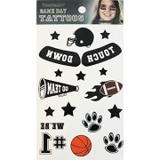 Temporary Tattoo Cdx Game Day Black Tattoos