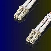 ROLINE 21.15.9252 :: Fiber Patch кабел, 2.0 м, тип LC/LC, Duplex, Multimode, 62.5/125um, 3.0 мм, оранжев цвят