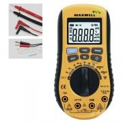 Digitálny multimeter s automatickou zmenou meracieho rozsahu
