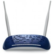 ROUTER TP-LINK; model: W8960N; MANAGEMENT; WIRELESS; PORTURI: 4 x RJ-45 10/100
