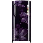 LG 190 L 4 Star Direct-Cool Single Door Refrigerator (GL-B201APOX.APOZEBN, Purple Orchid)