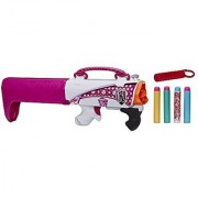 Nerf Rebelle Secrets and Spies Secret Shot Blaster Pink