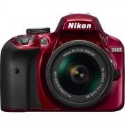 Nikon d3400 + 18-55mm af-p dx vr - rosso - 2 anni di garanzia