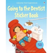 Usborne First Experiences Going to the Dentist Sticker Book by Anna Civardi