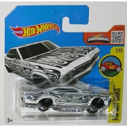 '65 CHEVY IMPALA Hot Wheels 2016 HW Art Cars Series White Impala 1:64 Scale Collectible Die Cast Metal Toy Car...