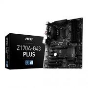 MSI Z170A G43 PLUS, processore Intel Z170 S 1151 DDR4 SATA3 6GBps Scheda madre ATX