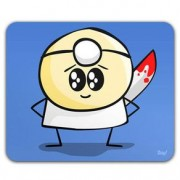 Mouse Pad Dr. Pepper Peppinho do Mal