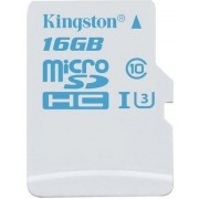 Card de memorie Kingston SDCAC/16GBSP microSDHC, 16GB, Clasa 10, UHS-I U3