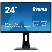 iiyama ProLite XB2483HSU-B2 24' AMVA, 1920x1080, 1A1D1H, USB, HAS