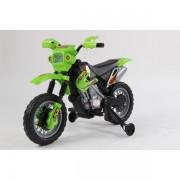 Moto Électrique Pour Enfant Vert Cross
