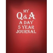 My Q & A a Day 5 Year Journal by The Blokehead