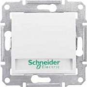SEDNA Feliratozható jelzőfényes nyomógomb 10 A IP20 Fehér SDN1700421 - Schneider Electric