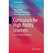 Curriculum for High Ability Learners 2017 by Liang See Tan