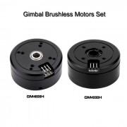 2 * Brushless Gimbal Motors para Mini camara DSLR 5N / 6N / 7N - Negro
